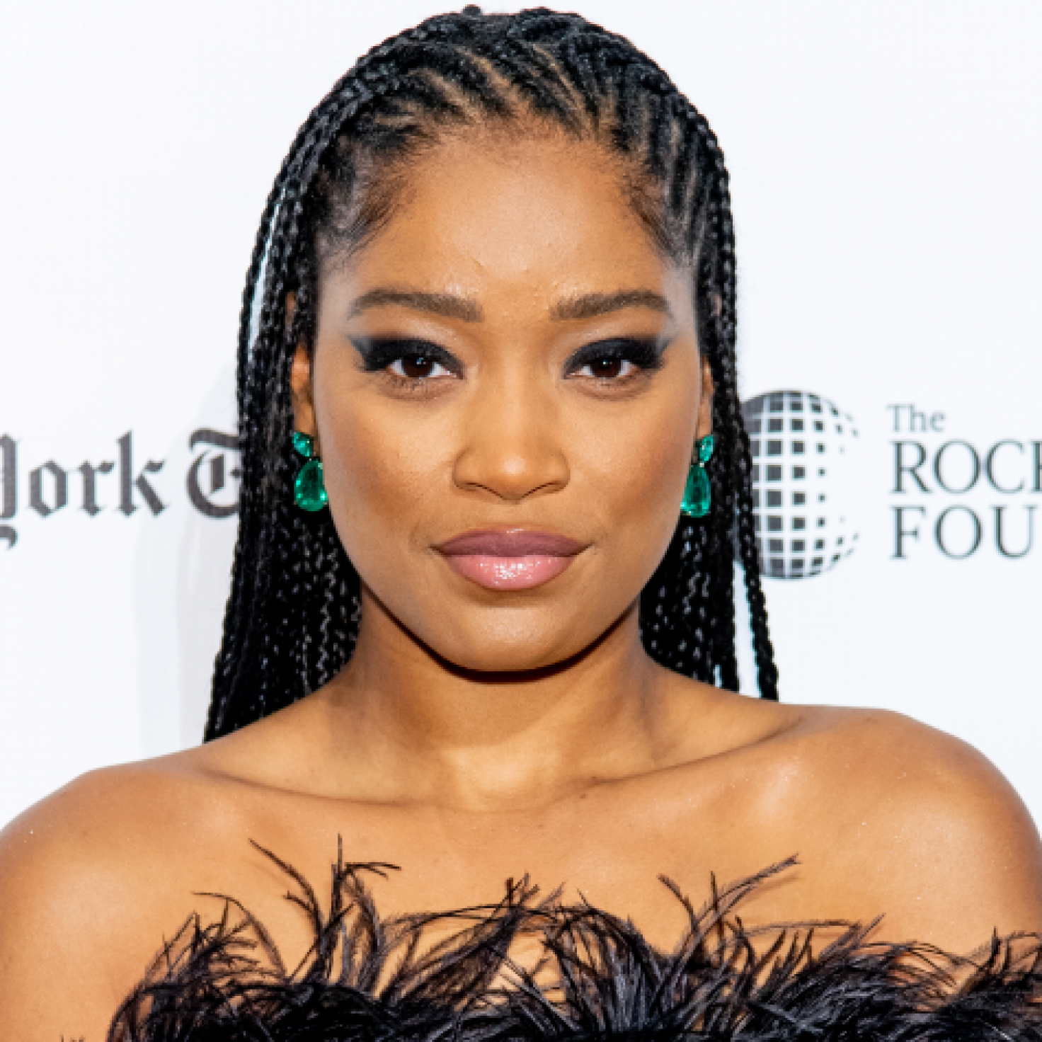 Keke Palmer Is The Queen Of Quarantine Beauty Looks