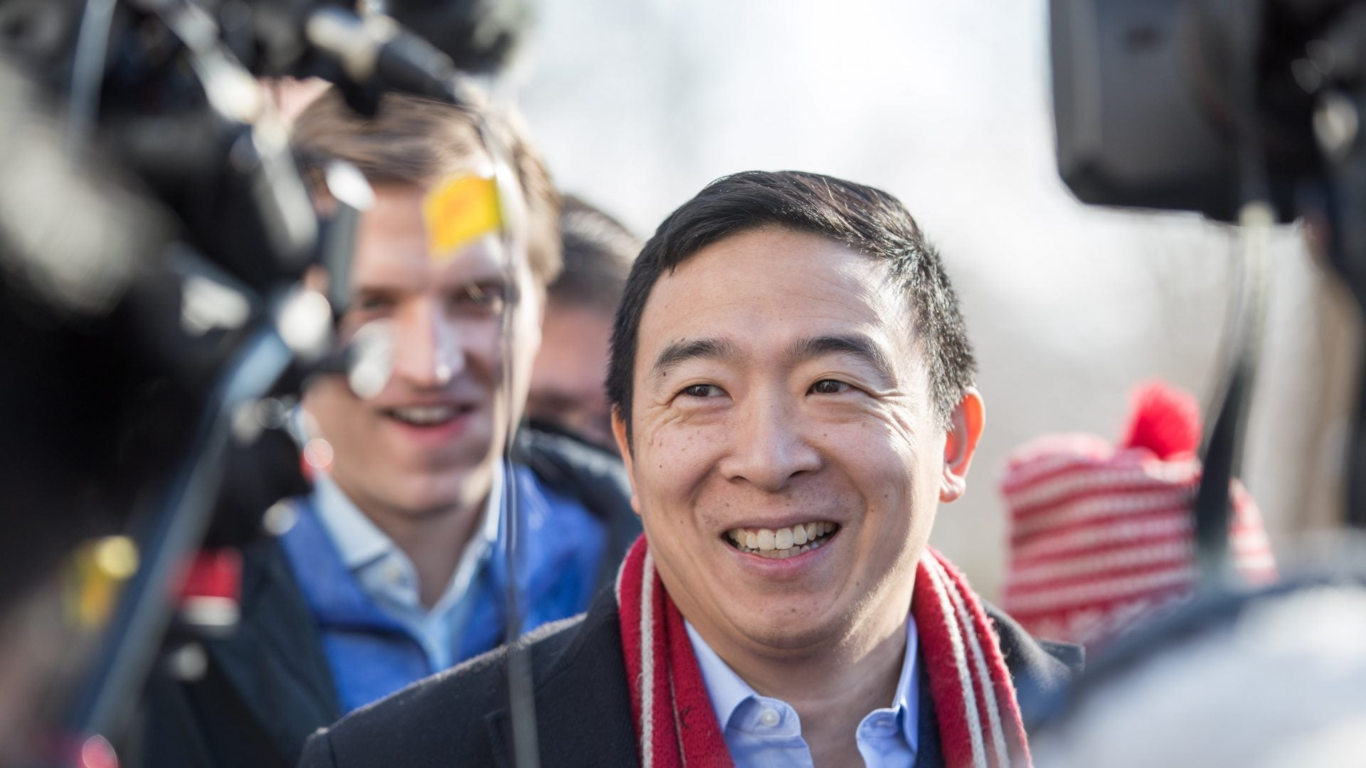 Andrew Yang's Non-Profit To Give 20 New Yorkers $500 Per Month For Five Years
