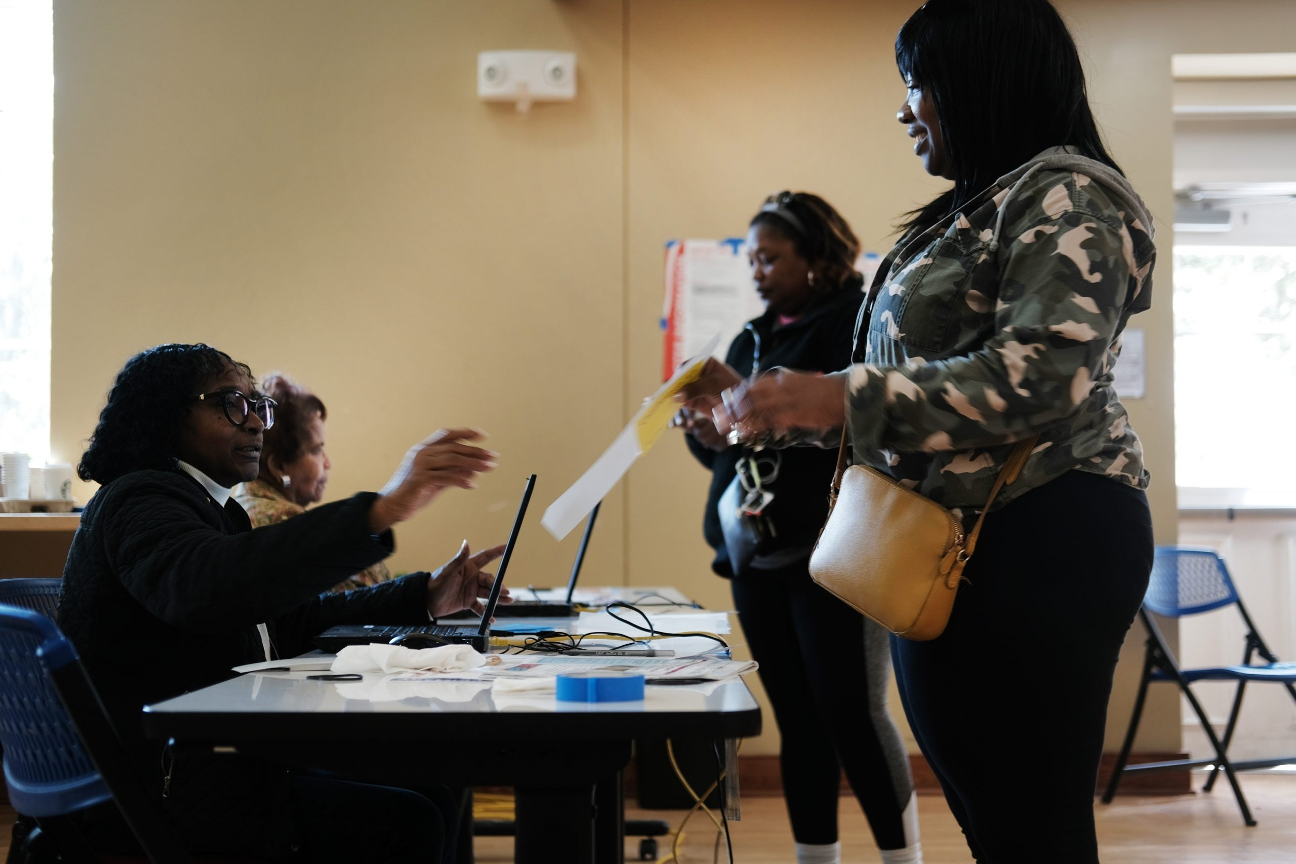 Black voters cast ballots in Feb primary. June 9 primary is proving to be a greater challenge.