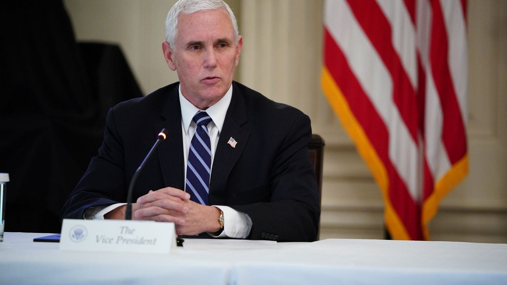 Pence's Staff Lashes Out At Reporter Who Contradicted VP's Statement In  Mask Drama