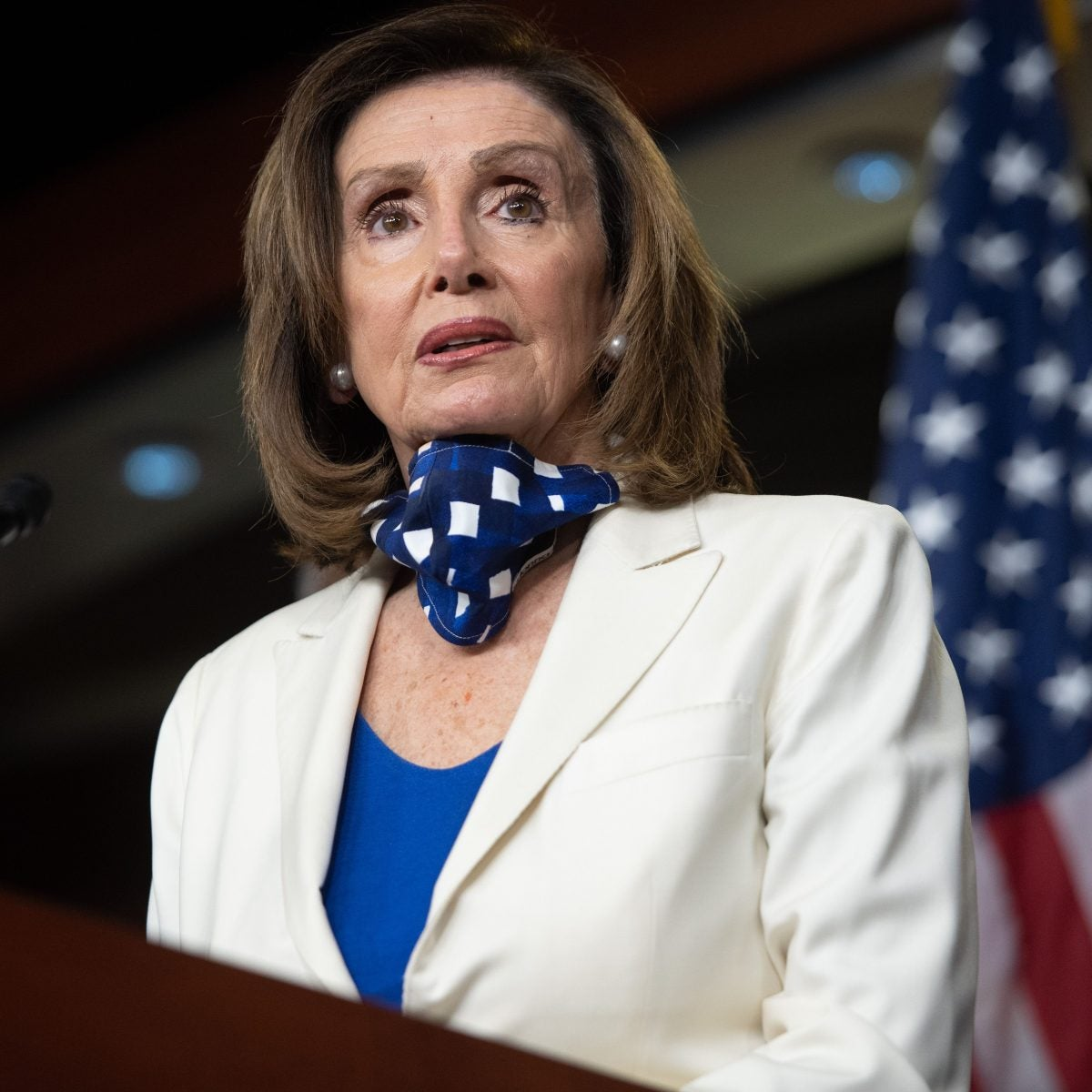 Pelosi Says Trump Rally Could Have Been A Zoom Meeting Based On Crowd Size