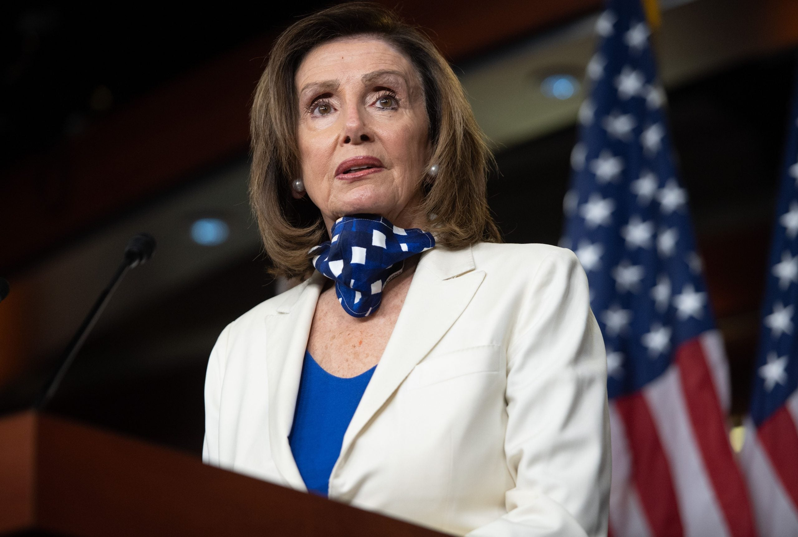 Nancy Pelosi, architect of HEROES Act