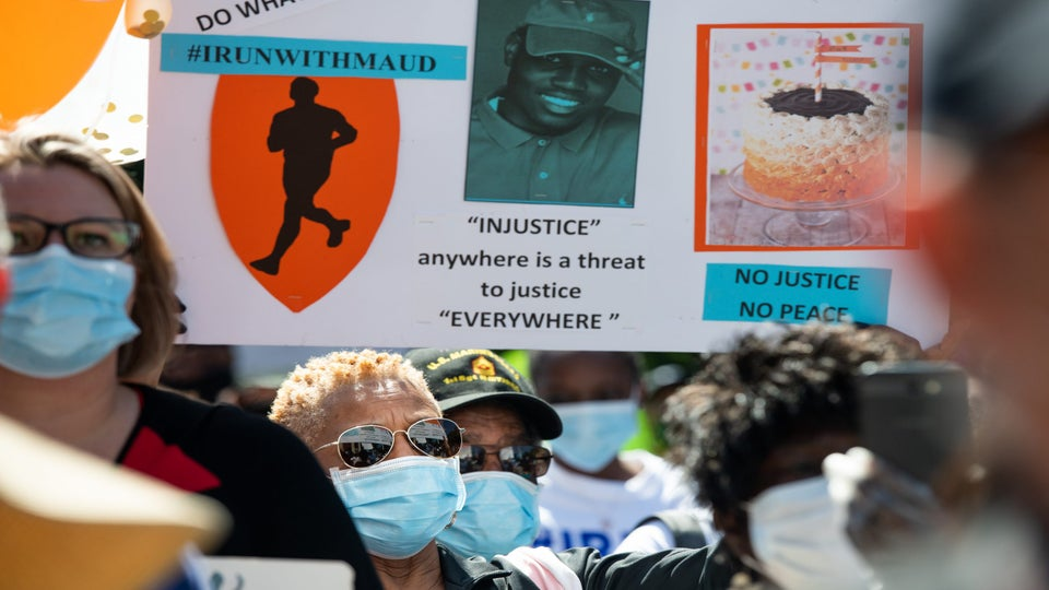 DOJ Investigating Ahmaud Arbery's Shooting Death As Hate Crime