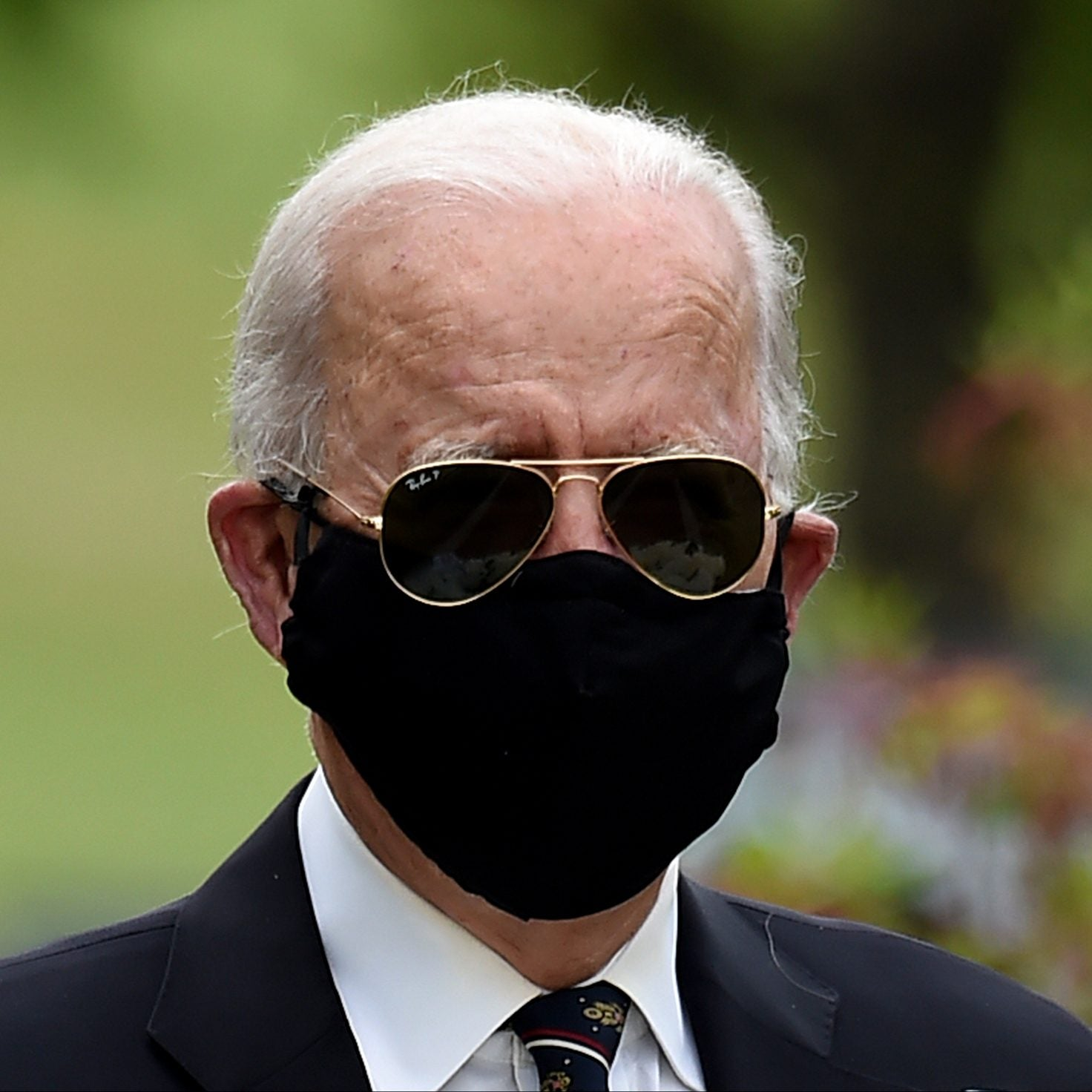 Biden Calls Trump An 'Absolute Fool' For Criticizing Those Wearing Face Masks