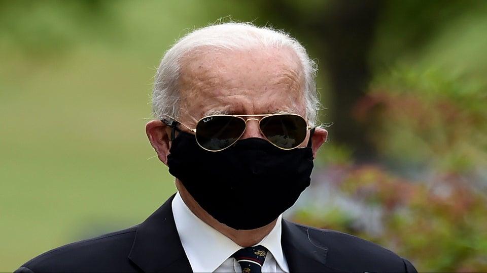 Biden Calls Trump An 'Absolute Fool' For Criticizing Those Wearing Face Masks