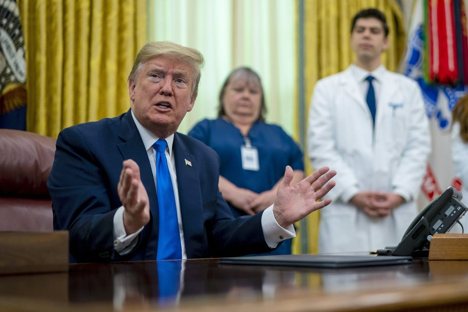 Trump Continues Push To Bring An End To Obamacare