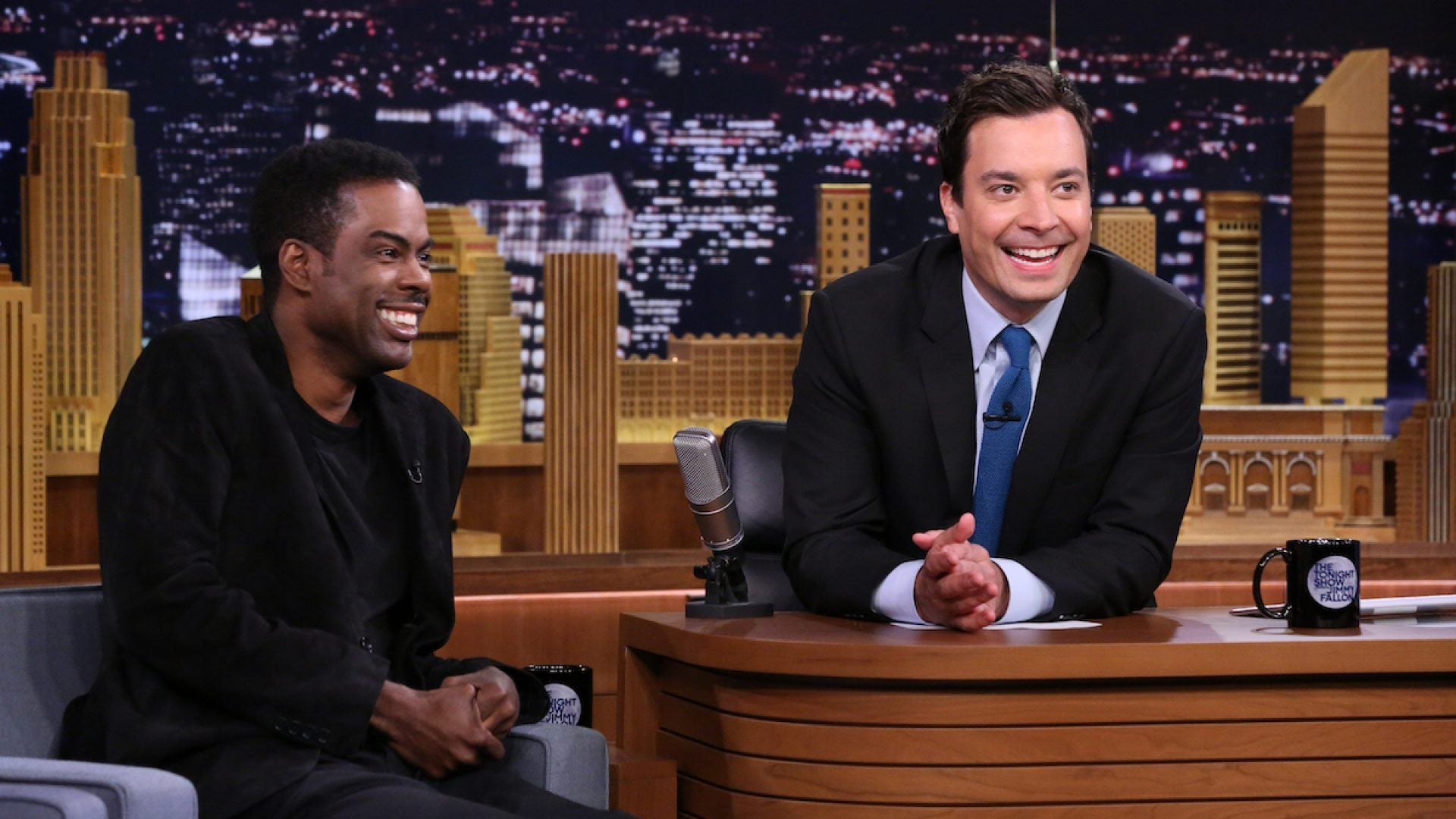 Jimmy Fallon Apologizes For Using Blackface To Impersonate Chris Rock