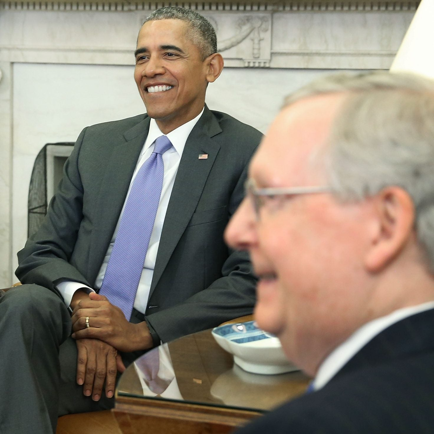 Obama's Response To McConnell's 'Shut Your Mouth' Comment: 'Make Better Policy Decisions'