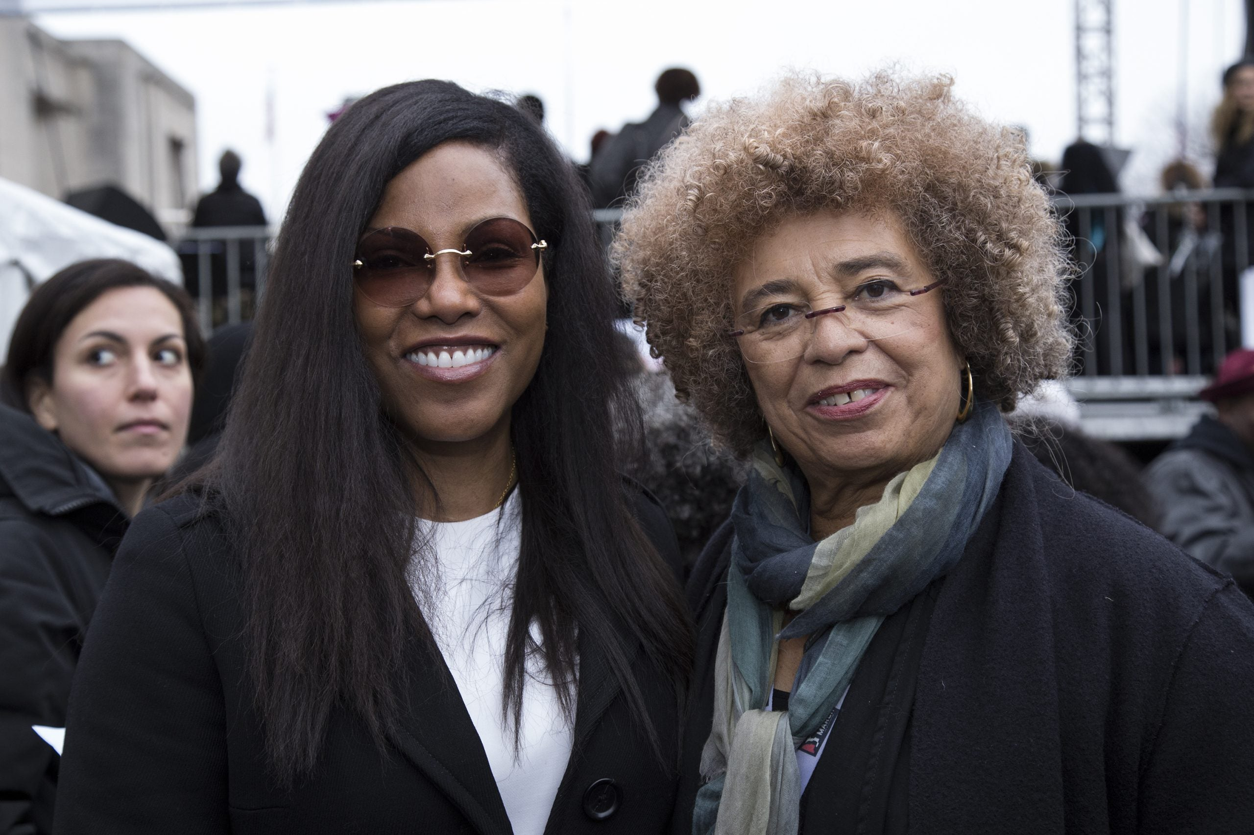 Ilyasah Shabazz with Angela Davis
