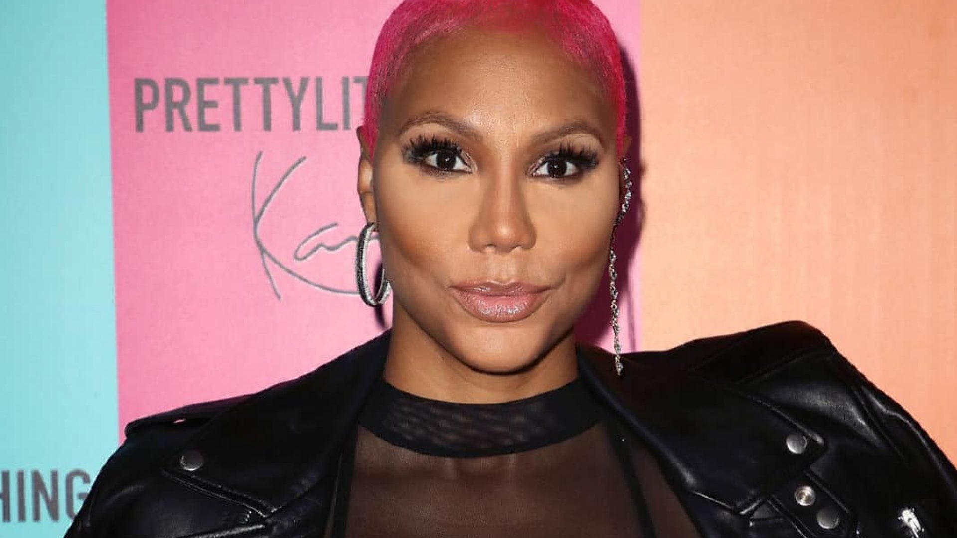 Tamar Braxton Says She's Eating Her Feelings And Binge-Watching TV During Quarantine