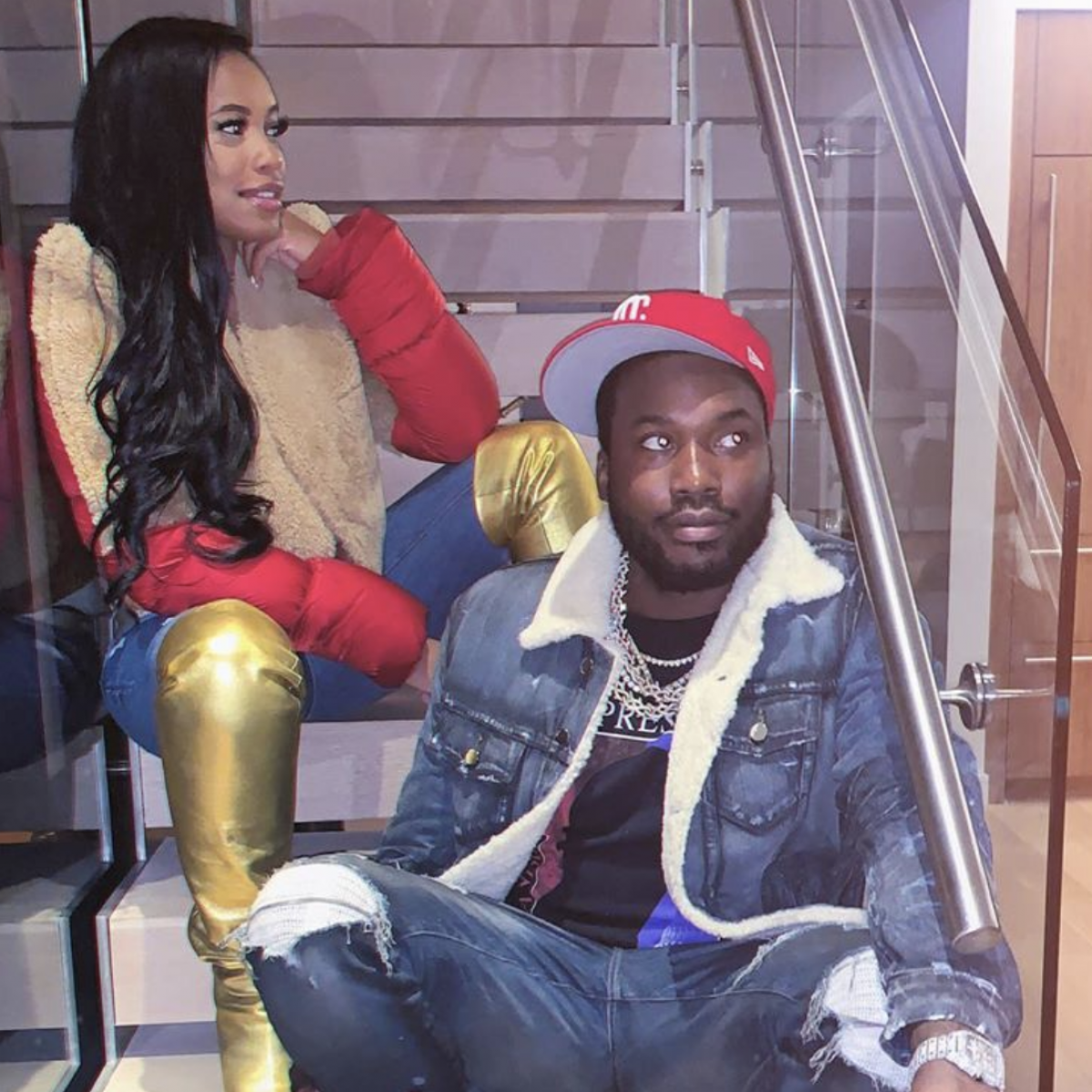 Meek Mill And Milan Harris Split Two Months After Welcoming A Son