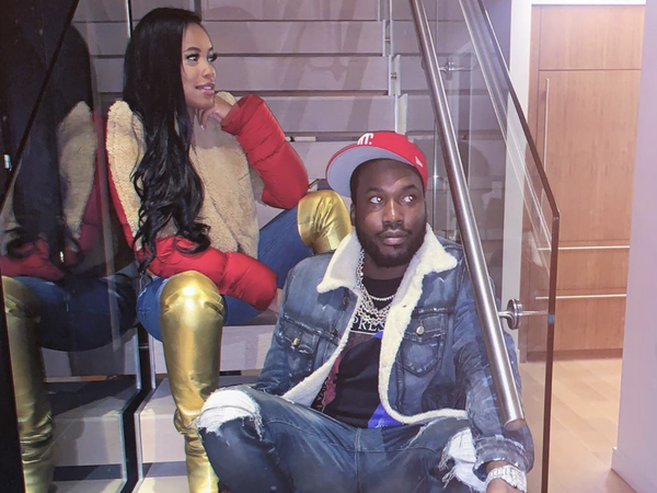 Meek Mill And Milan Harris Welcome A Son On His Birthday