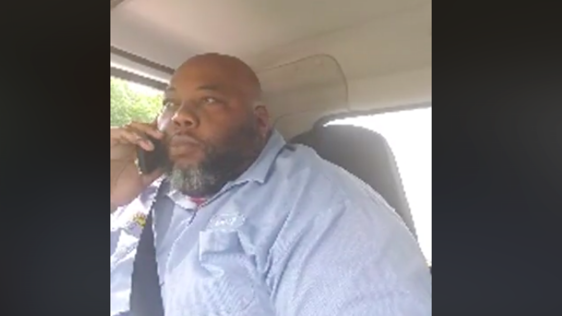 White Man Blocks Black Deliveryman In Gated Community, Demands To Know Where He's Going