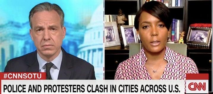 Atlanta Mayor Keisha Lance Bottoms On Trump: 'He Should Just Stop Talking'