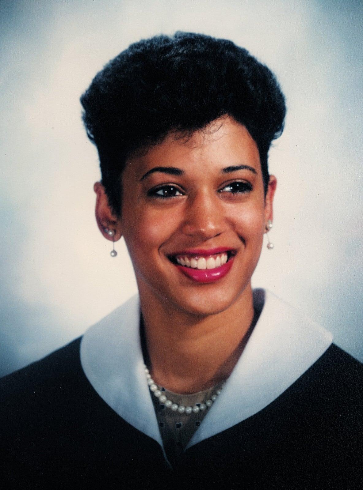 Kamala Harris graduation photo from Howard University