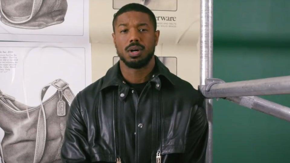 Michael B. Jordan Talks 'Owning His Space' In Coach Ad