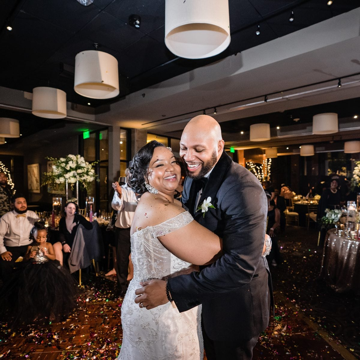 Bridal Bliss: Moneca And Randall Danced The Night Away At Their New Year's Eve Wedding