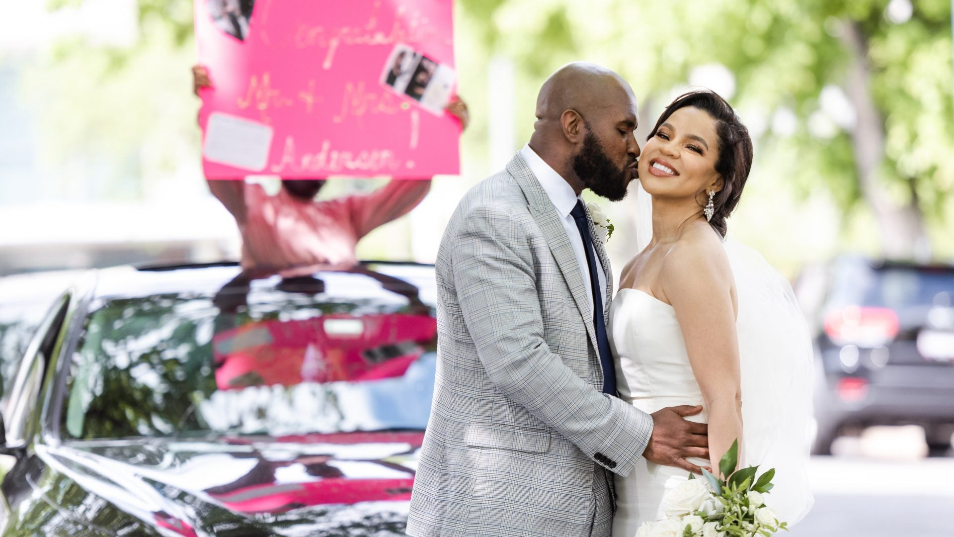 Bridal Bliss: Lauren and Warren's Social Distancing Wedding In Washington D.C.