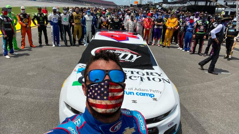 NASCAR Driver Bubba Wallace Speaks After FBI Investigation