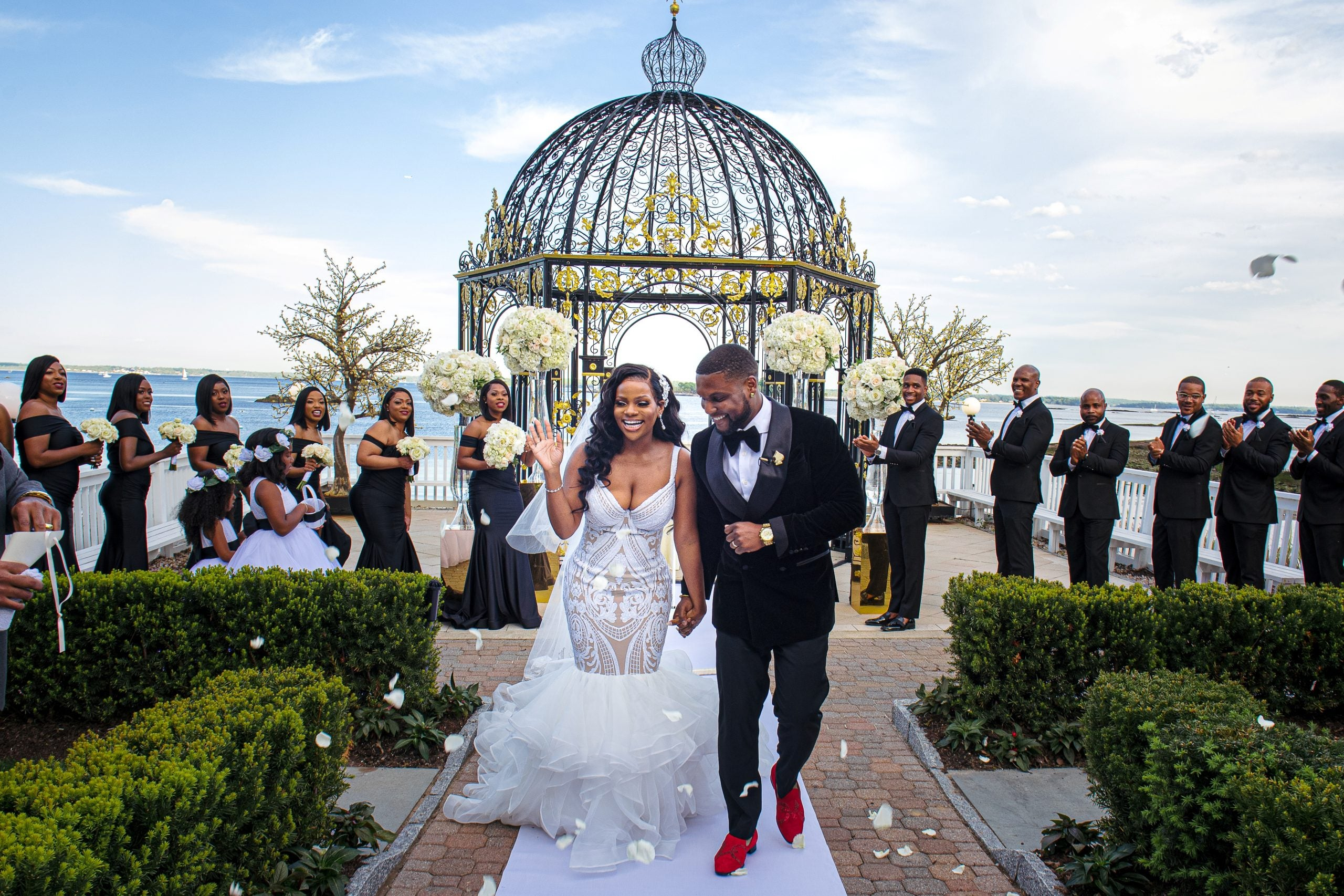 Bridal Bliss: Please Give Ayesha and Steven An Award For This Glam Wedding Affair