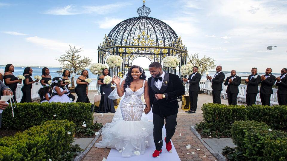 Bridal Bliss: Ayesha And Steve's New York Wedding