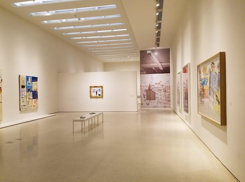 Chaédria LaBouvier exhibit at The Guggenheim featuring Basquiat