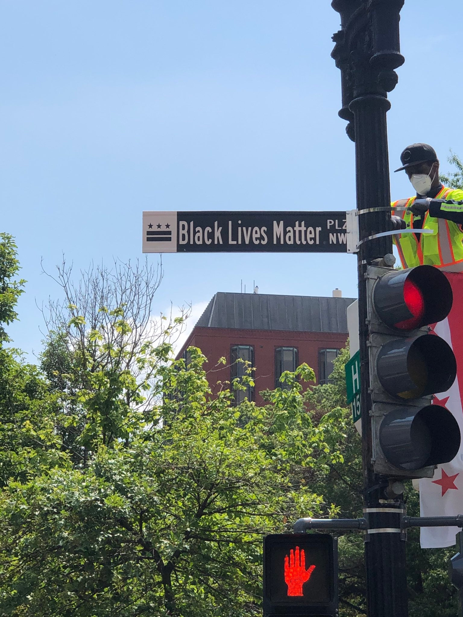 Black Lives Matter Plaza renamed by Mayor Muriel Bowser
