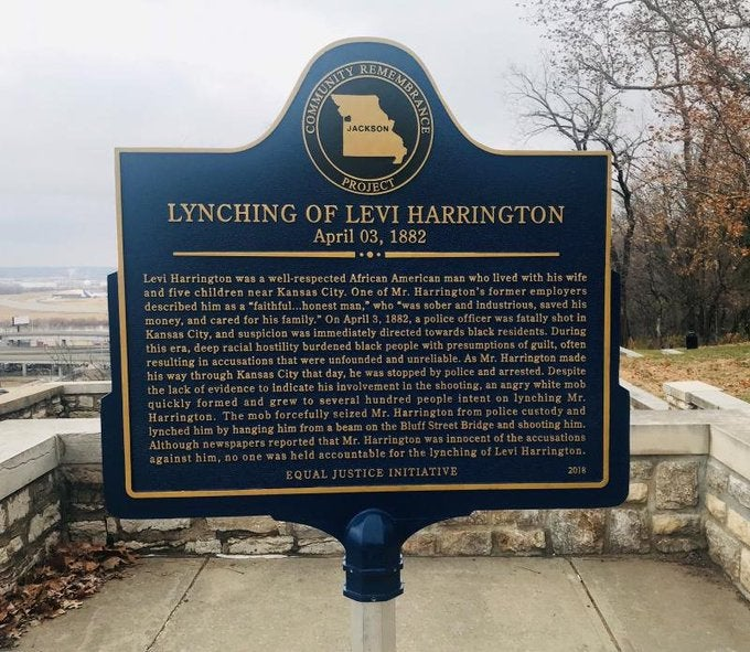 Kansas City Police Investigating After Lynching Victim Memorial Is Vandalized
