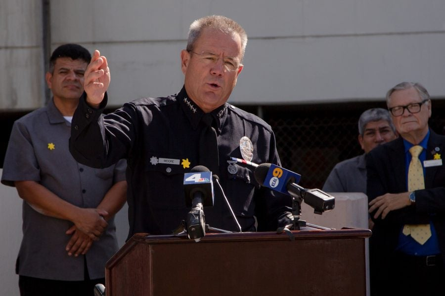 Los Angeles Residents Read Police Chief For Filth After Controversial Comments On George Floyd's Death