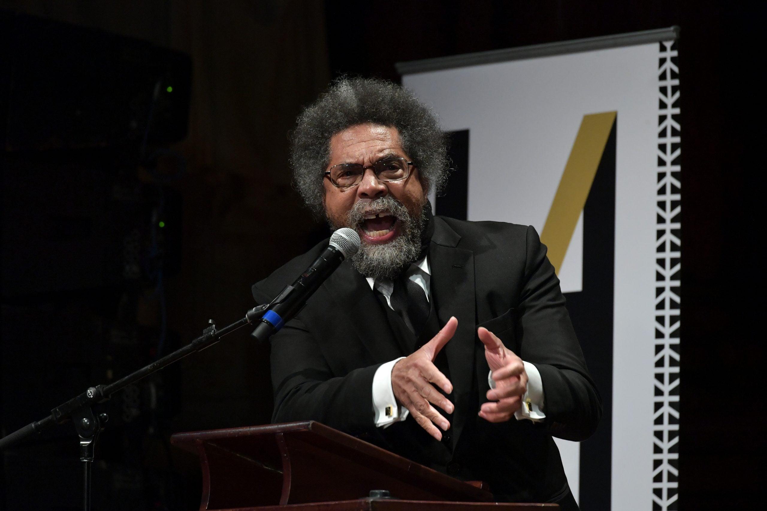 Cornel West Unloads On Fox News Guest During 'Defund Police' Conversation