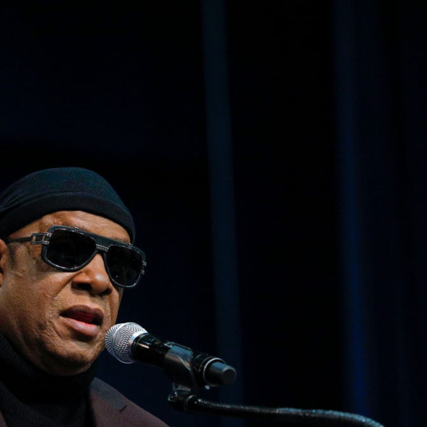 Stevie Wonder Denounces Racism And Donald Trump: 'It's A Bad Day When I Can See Better Than Your 20/20 Vision'
