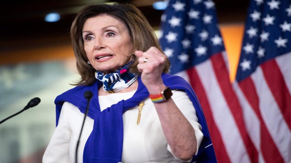 Nancy Pelosi On Confederate Statues In U.S. Capitol: Take Them All Down