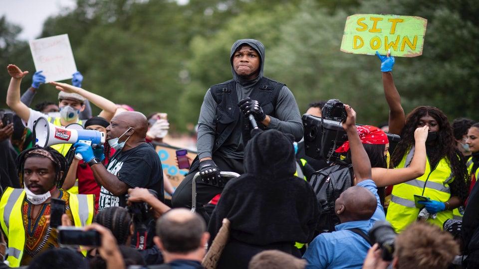 'Star Wars' Actor John Boyega Demands Respect For Black Lives At London Protest