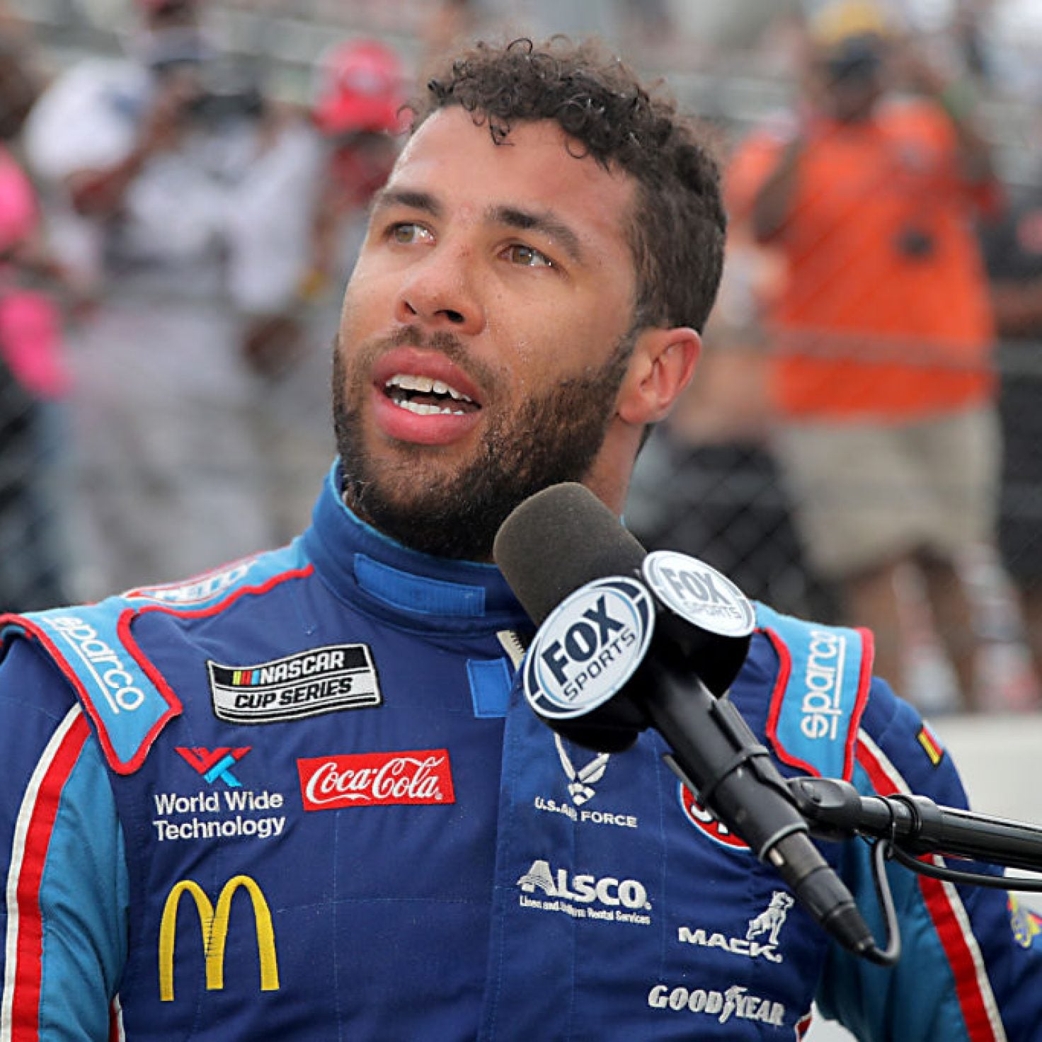 "Bubba Wallace Addresses NASCAR Noose Incident ""You're Not Going To Take Away My Smile"""
