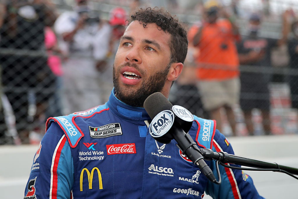 """Bubba Wallace Addresses NASCAR Noose Incident """"You're Not Going To Take Away My Smile"""""""