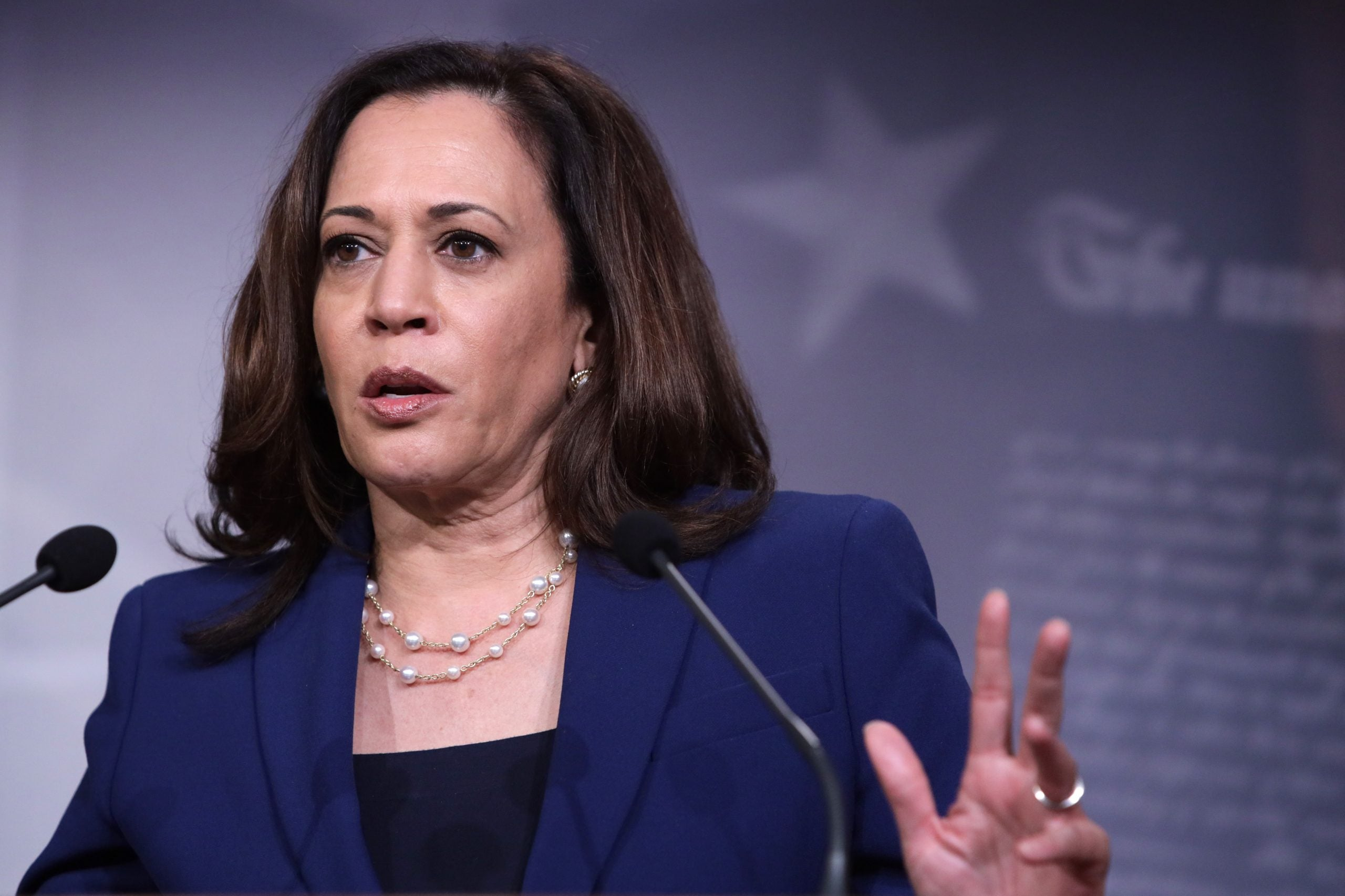 Kamala Harris To Mitch McConnell: 'Not Here To Play Games' On Police Reform
