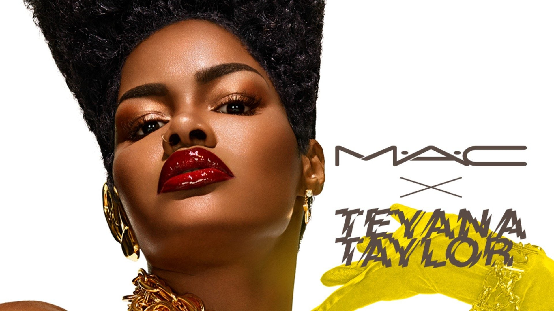 MAC Cosmetics Partners With Teyana Taylor To Launch '90s Inspired Collection