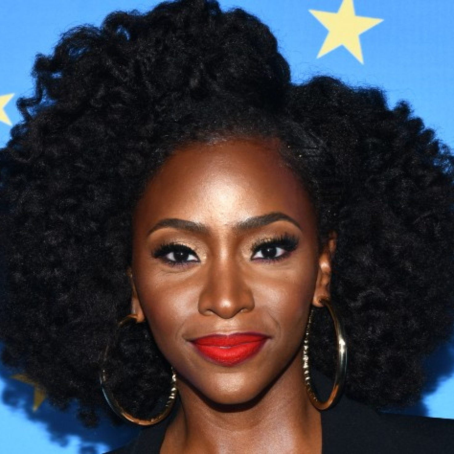 Teyonah Parris Has The Perfect Advice For Naturalistas Struggling To Love Their Hair
