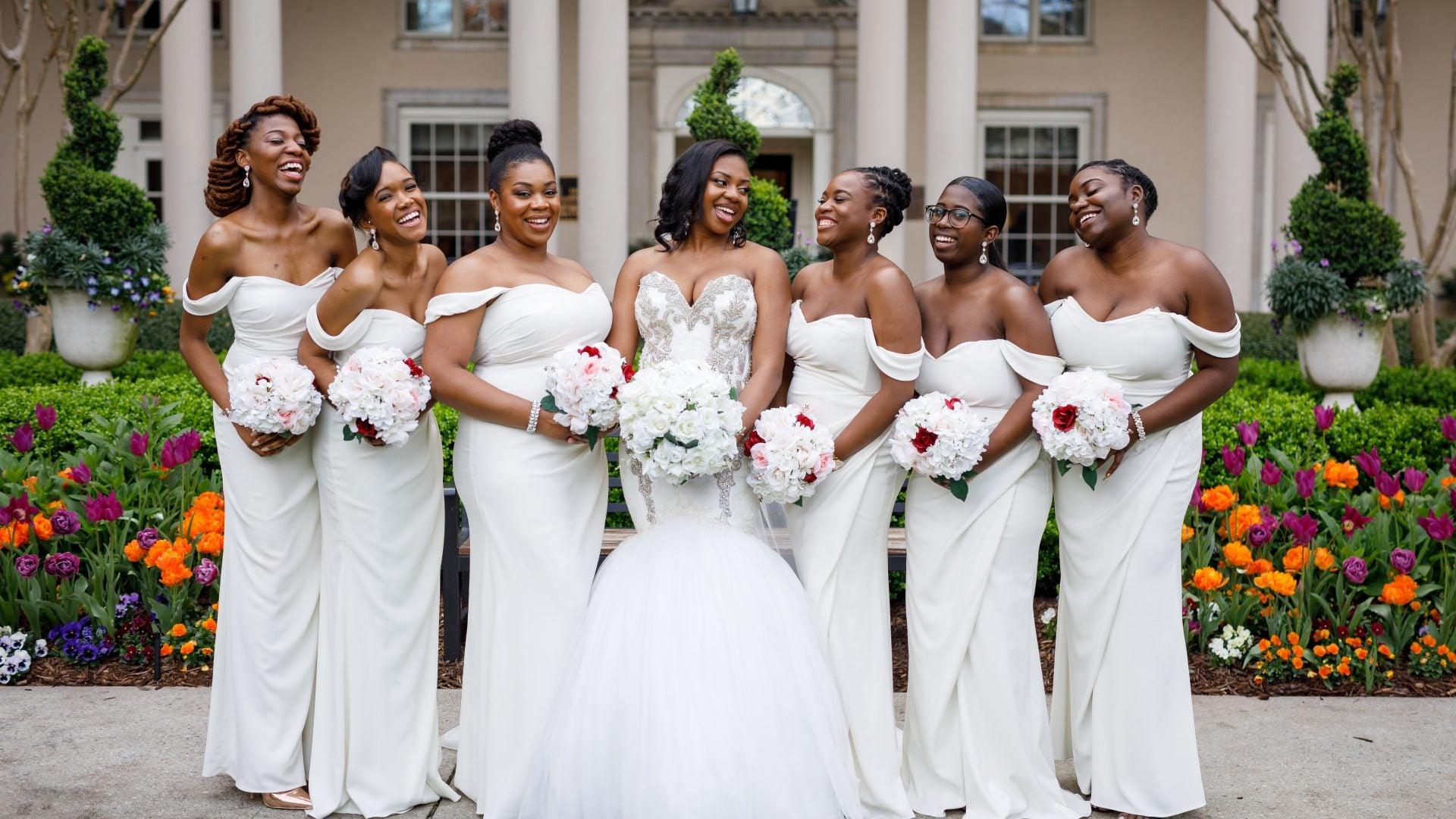 Bridal Bliss: Leanna and Clifton's Ballroom Wedding