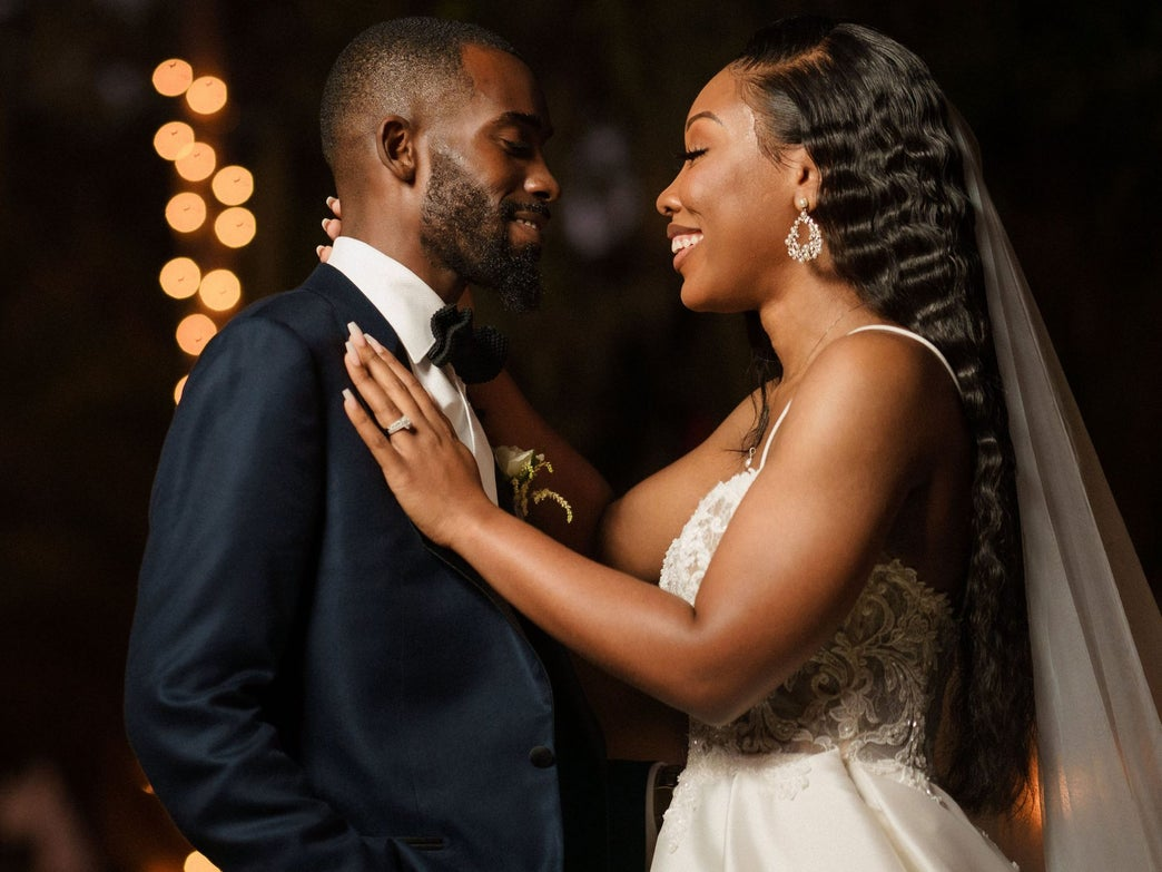 Bridal Bliss: Alexis And Kevin Modern Fairytale Wedding