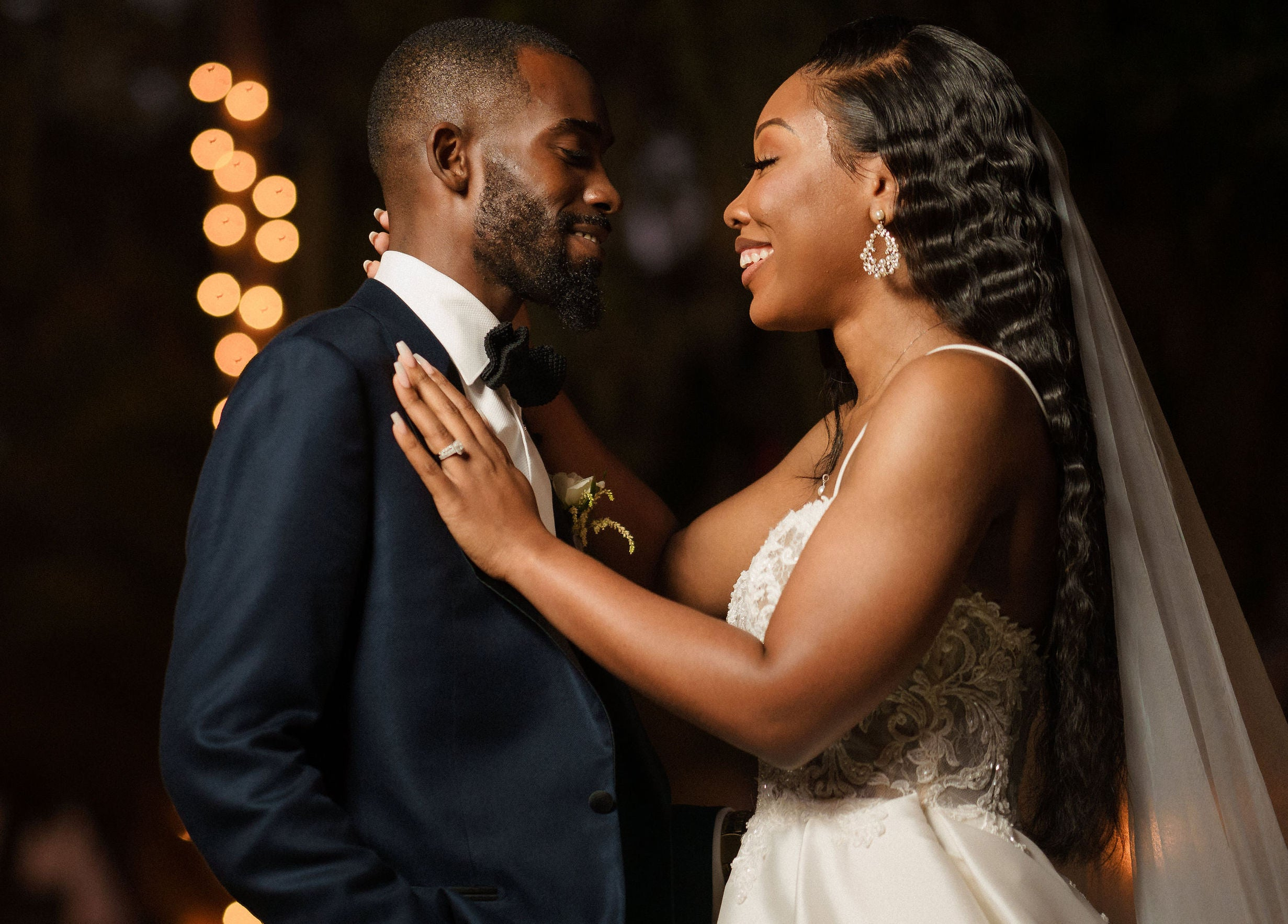 Bridal Bliss: Alexis And Kevin Brought Fairytale Vibes To Their Florida Wedding