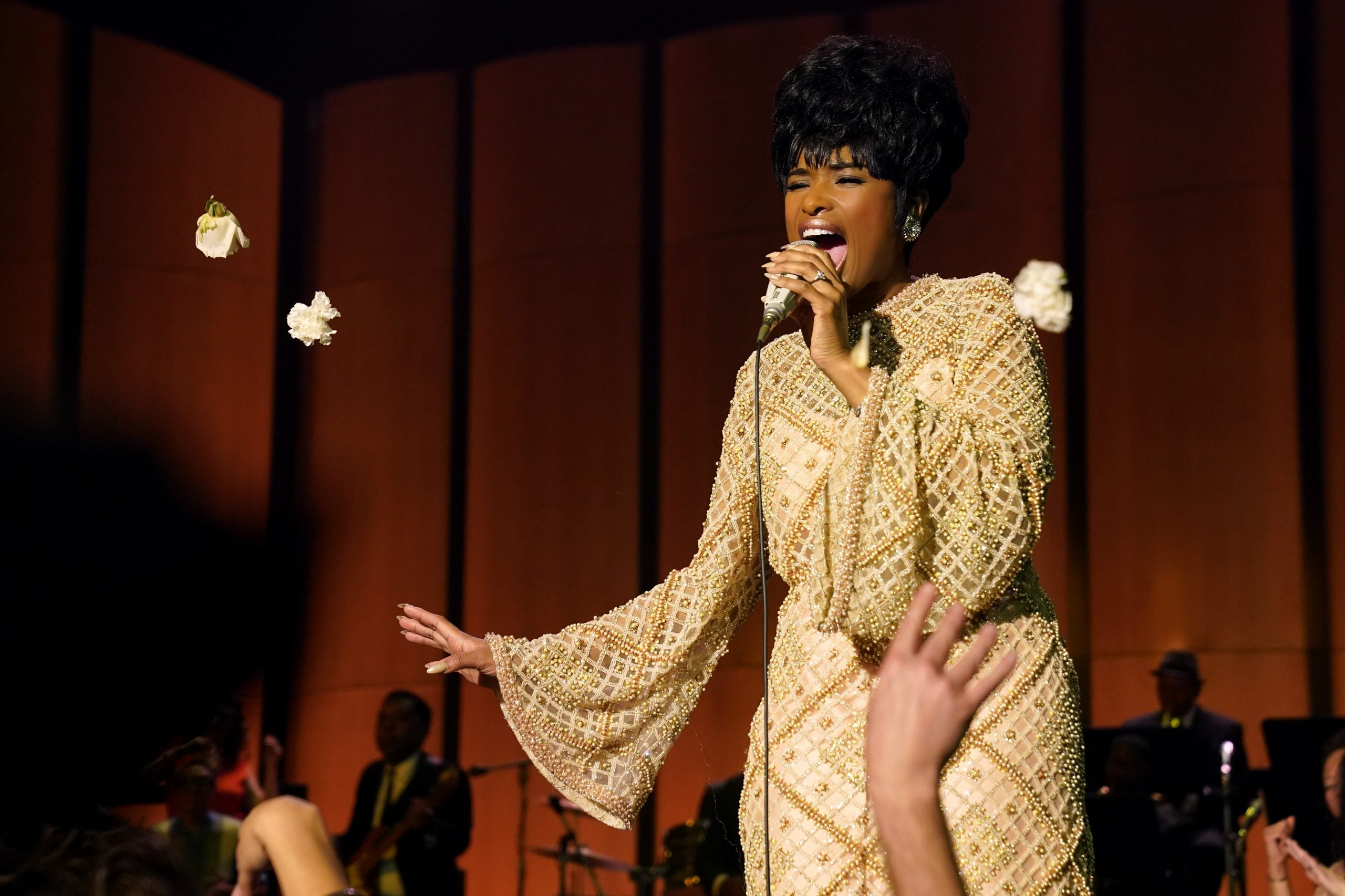 Check Out Never-Before-Seen Photos of Jennifer Hudson As Aretha Franklin