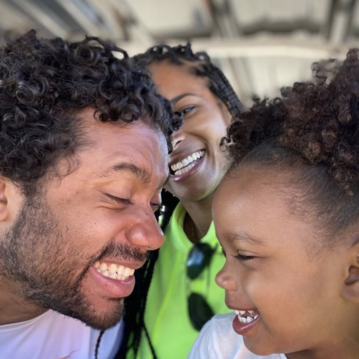 Ciara's Video Of Russell Wilson Doing Their 3-Year-Old Daughter's Hair Will Make You Smile