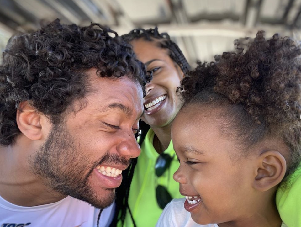 Ciara's Video Of Russell Wilson Doing Their Daughter's Hair Is Adorable