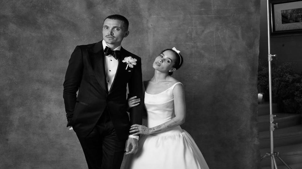 Zoë Kravitz and Karl Glusman Celebrate Their One-Year Wedding Anniversary