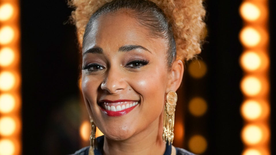 Amanda Seales' BET Awards Red Carpet Halo Braid Was A Show Stealer