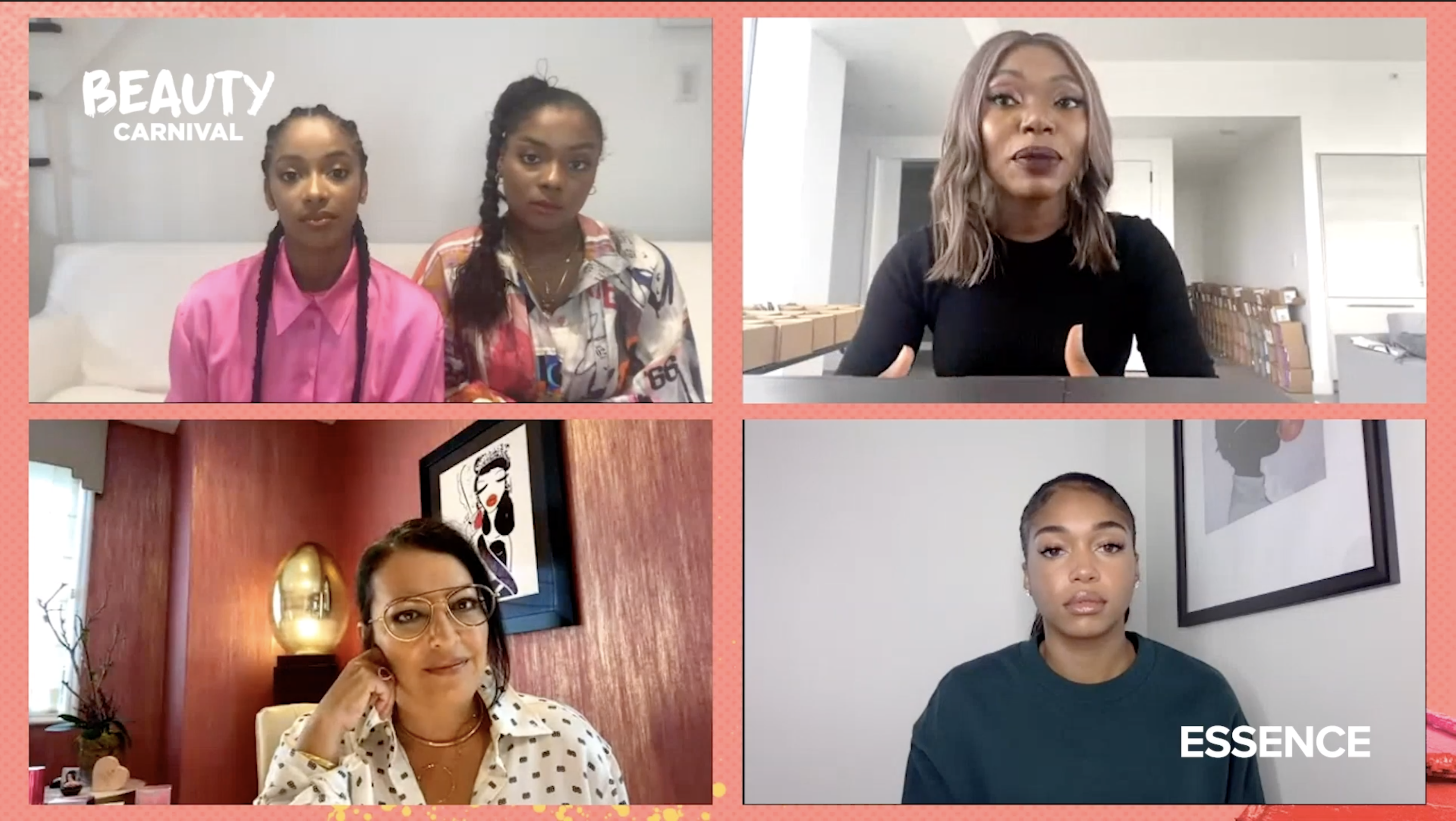 Sharon Chuter Explains the Pull Up Challenge on ESSENCE Festival Beauty Carnival