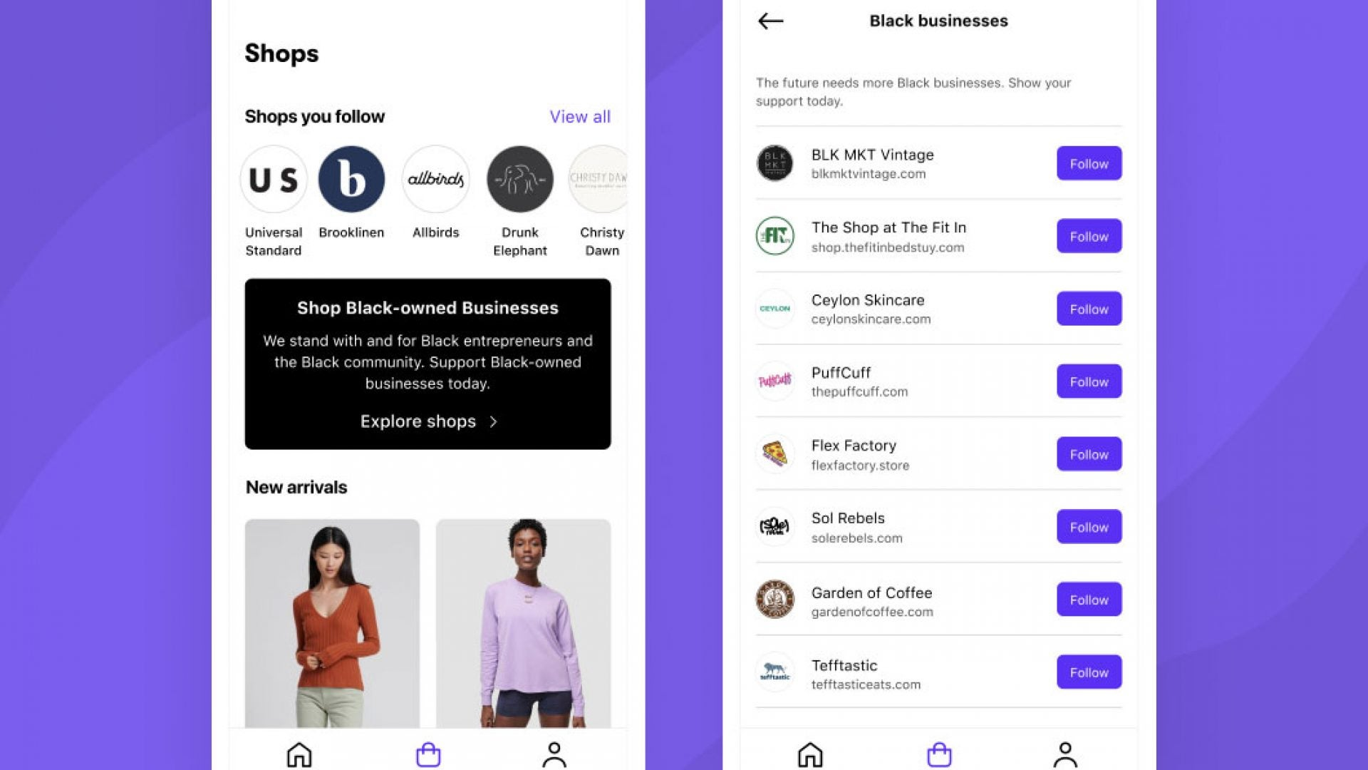 'Shop' Allows Users To Easily Find Black Owned Brands