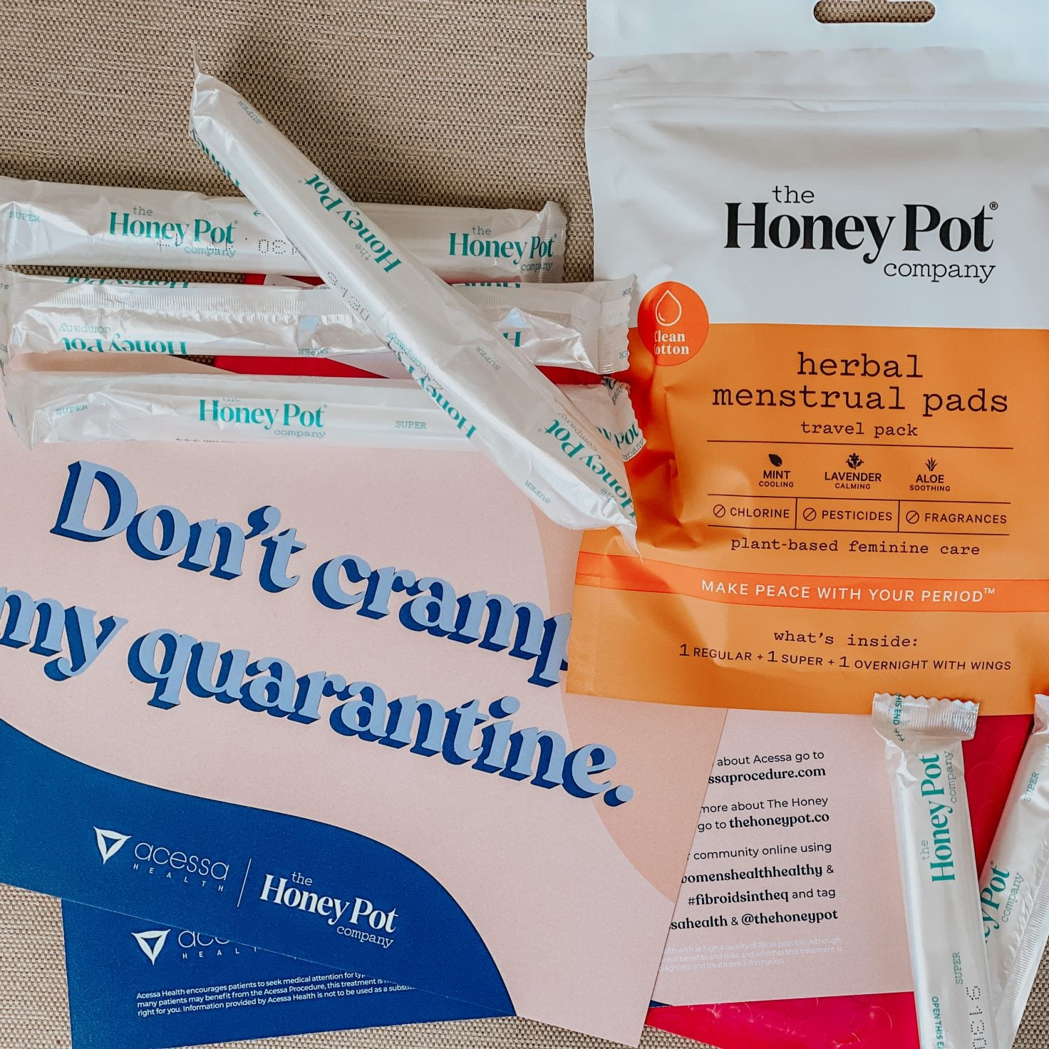 The Honey Pot And Acessa Health Partner To Offer Free Menstrual Products To Fibroid Sufferers