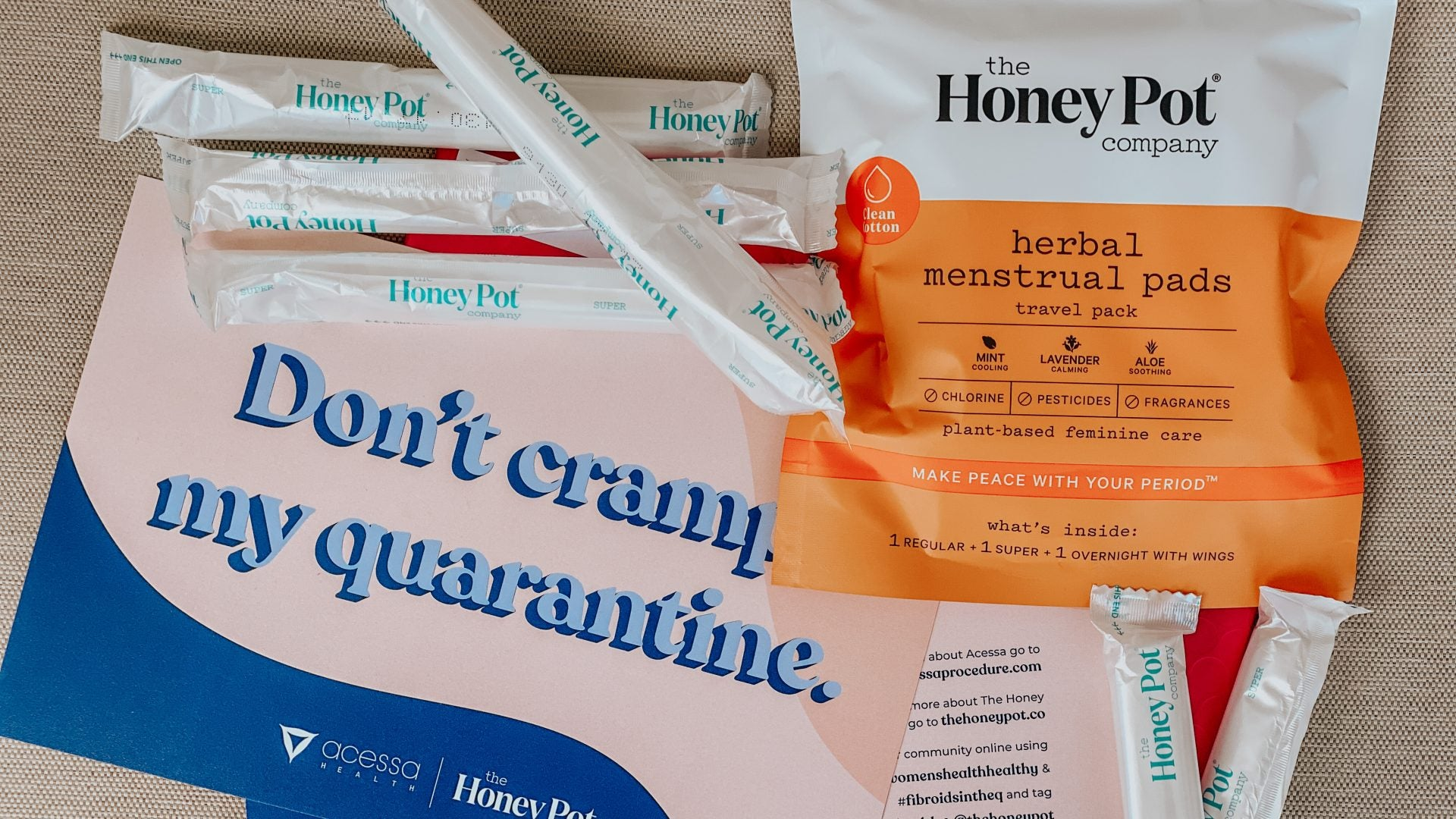 The Honey Pot And Acessa Health Are Giving Free Menstrual Products To Fibroid Sufferers